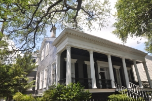 Single Hall House in New Orlean's Garden District