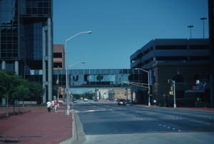 Downtown Fort Worth Skybridge, 1980s