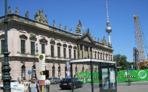 The Zeughaus (Arsenal) taking during my travels to Berlin.