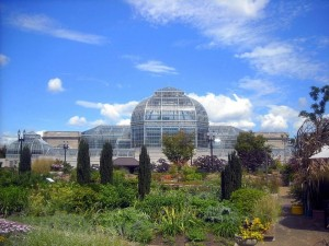 US Botanical Garden Conservatory in Washington, D.C.
