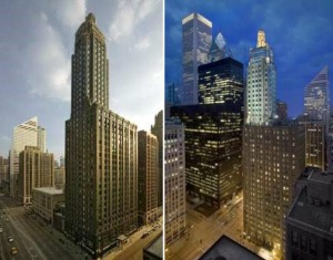 The Carbide and Carbon Building in Chicago