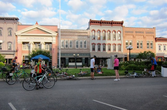Nelsonville Town Square