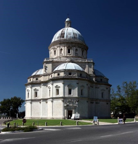 Santa Maria della Consolazione in Todi, by Cola da Caprarola (influenced by Bramante)