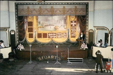 Stuart Opera House Auditorium ca. 1979