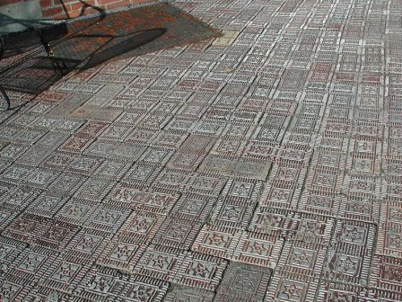 Star Brick, which was used for paving among other applications.