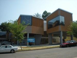 The Bellevue Neighborhood Library, Washington, D.C. A modern Modernist building.
