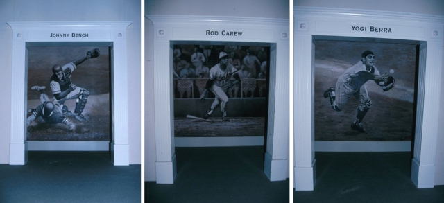 Photos taken from the first opening day at Rangers Ballpark in Arlington in 1994 show the suites