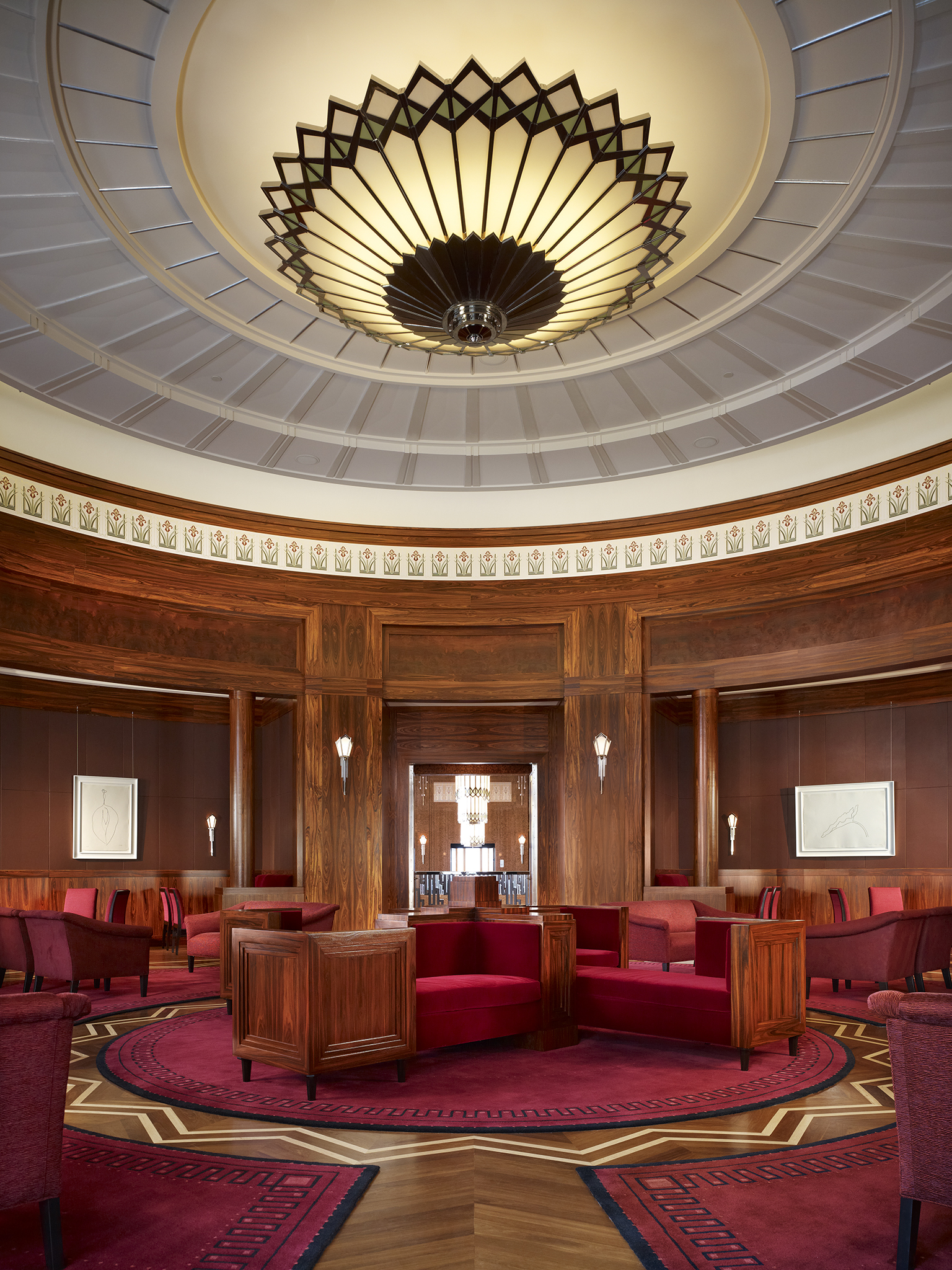 The founders room at the smith center for the performing arts epitomizes the way in which