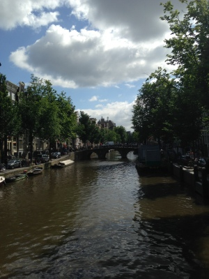 Canals in Amsterdamn