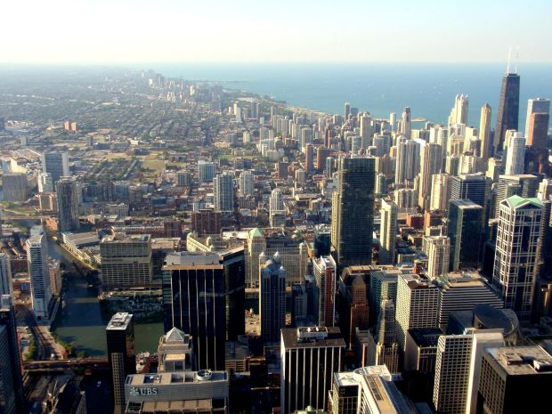 Chicago Skyline from Willis Tower