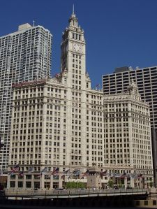 Chicago's famous Wrigley Building was the first air conditioned office building in the city.