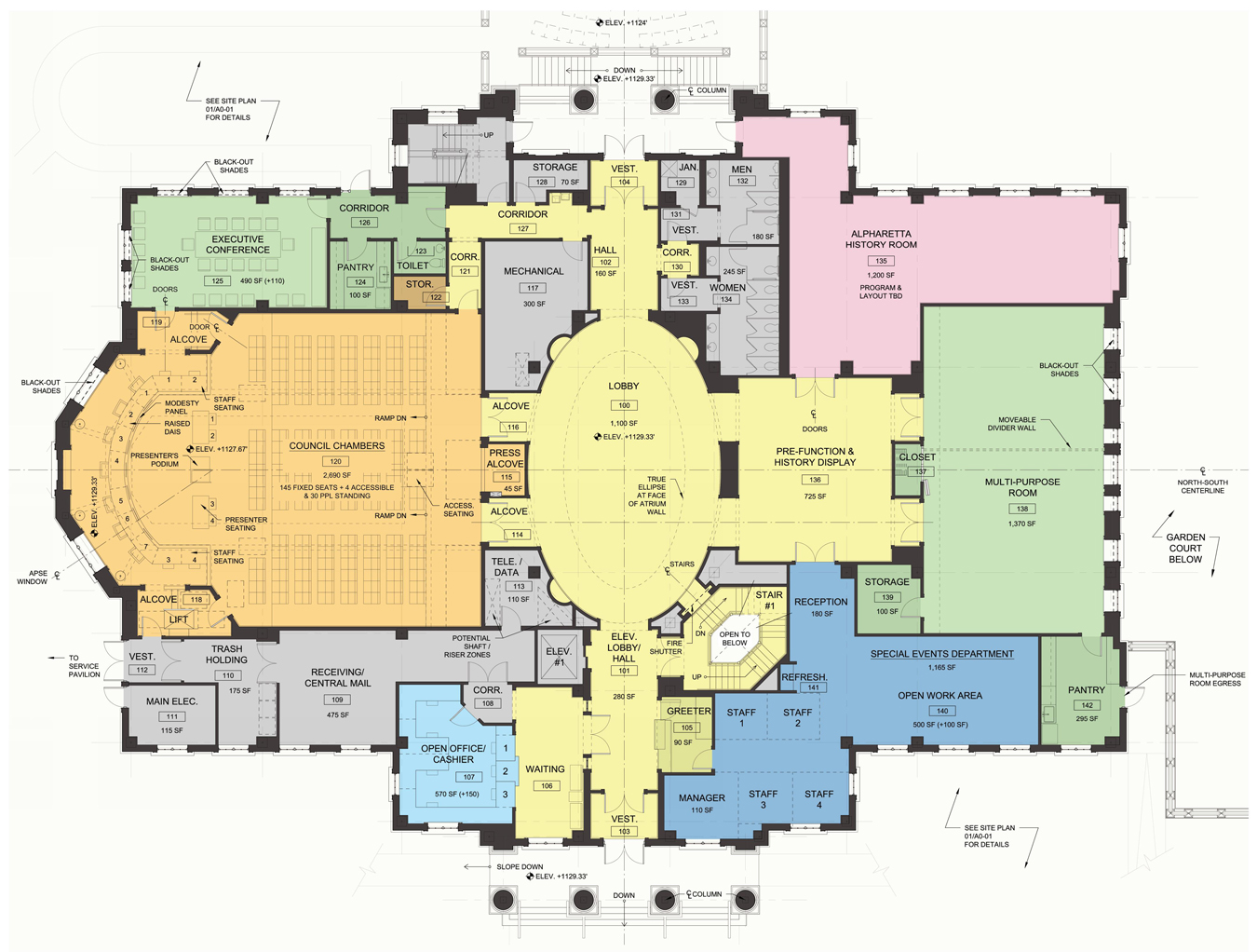City Hall Floor Plan Requirements Thefloors Co