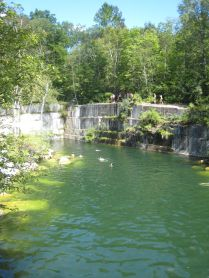Dorest Quarry in Southern Vermont