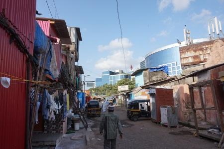 Hutament in Mumbai adjacent to recent major commercial development