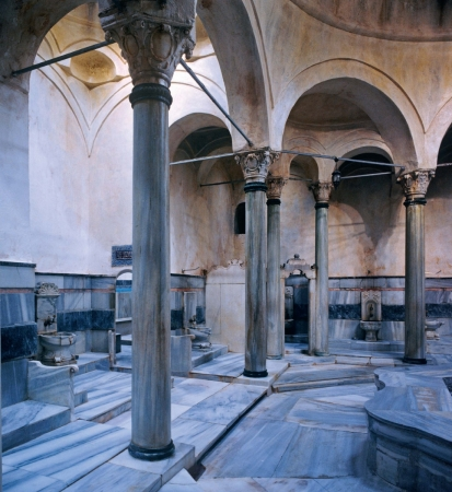 Cagaloglu - bath house in Istanbul, Turkey