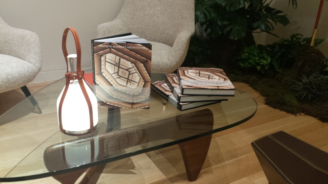 The third monograph on display during the release party at Louis Vuitton in the Miami Design District