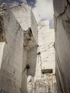 Botticino quarry near Brescia, Lombardy, Italy