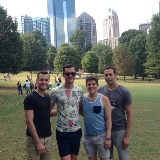 Piedmont Park (Derek Marks, second from the left)