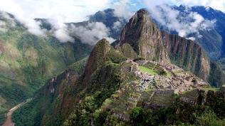 Panorama of Machu Pichu